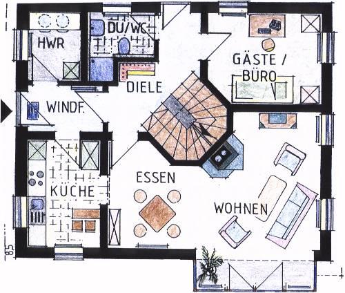 Bs bauer wohnbau gmbh co kg architektenhaus for Grundriss architektenhaus